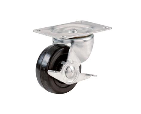 03Series系列-黑色PP脚轮-重型脚轮