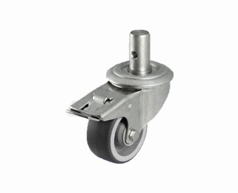 38Series系列-灰色TPR包灰色PP脚轮